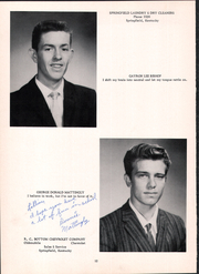 Page 16, 1960 Edition, Mackville High School - Thorobred Yearbook (Mackville, KY) online yearbook collection