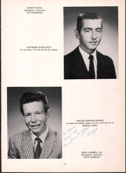 Page 17, 1960 Edition, Mackville High School - Thorobred Yearbook (Mackville, KY) online yearbook collection