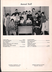 Page 7, 1960 Edition, Mackville High School - Thorobred Yearbook (Mackville, KY) online yearbook collection