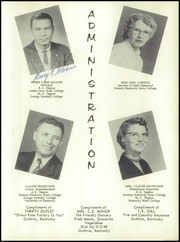 Page 11, 1958 Edition, Guthrie High School - Eagle Yearbook (Guthrie, KY) online yearbook collection