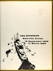 Page 3, 1966 Edition, Epperson (DD 719) - Naval Cruise Book online yearbook collection