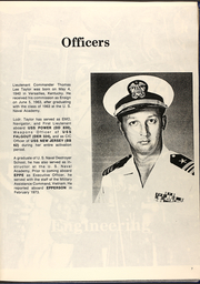 Page 9, 1973 Edition, Epperson (DD 719) - Naval Cruise Book online yearbook collection