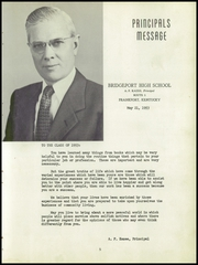 Page 13, 1953 Edition, Bridgeport High School - Milestone Yearbook (Frankfort, KY) online yearbook collection