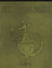 1953 Edition, Epping Forest (LSD 4) - Naval Cruise Book