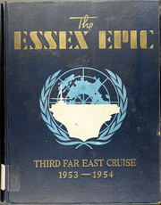 Page 1, 1954 Edition, Essex (CVA 9) - Naval Cruise Book online yearbook collection