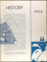 Page 11, 1954 Edition, Essex (CVA 9) - Naval Cruise Book online yearbook collection