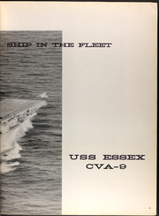 Page 13, 1960 Edition, Essex (CVA 9) - Naval Cruise Book online yearbook collection