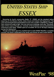 Page 5, 1998 Edition, Essex (LHD 2) - Naval Cruise Book online yearbook collection