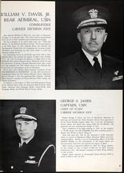 Page 11, 1956 Edition, Hancock (CVA 19) - Naval Cruise Book online yearbook collection