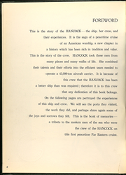 Page 4, 1956 Edition, Hancock (CVA 19) - Naval Cruise Book online yearbook collection
