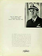 Page 10, 1960 Edition, Hancock (CVA 19) - Naval Cruise Book online yearbook collection