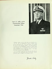 Page 11, 1960 Edition, Hancock (CVA 19) - Naval Cruise Book online yearbook collection