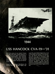 Page 16, 1975 Edition, Hancock (CVA 19) - Naval Cruise Book online yearbook collection