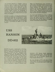 Page 6, 1972 Edition, Hanson (DD 832) - Naval Cruise Book online yearbook collection