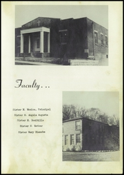 Page 15, 1952 Edition, Immaculate Conception High School - Marivale Yearbook (Hawesville, KY) online yearbook collection