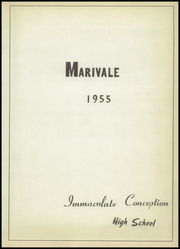 Page 5, 1955 Edition, Immaculate Conception High School - Marivale Yearbook (Hawesville, KY) online yearbook collection