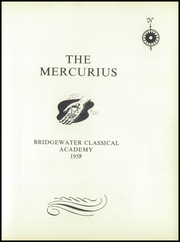 Page 5, 1959 Edition, Bridgewater Classical Academy - Mercurius Yearbook (Bridgewater, ME) online yearbook collection
