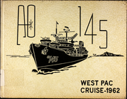 1962 Edition, Hassayampa (AO 145) - Naval Cruise Book