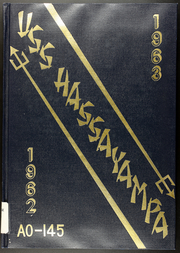 1963 Edition, Hassayampa (AO 145) - Naval Cruise Book