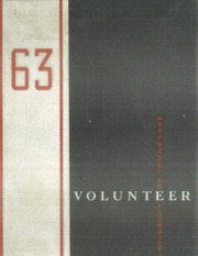 University of Tennessee Knoxville - Volunteer Yearbook (Knoxville, TN) online yearbook collection, 1963 Edition, Page 1