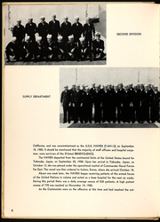 Page 10, 1951 Edition, Haven (AH 12) - Naval Cruise Book online yearbook collection