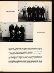 Page 11, 1951 Edition, Haven (AH 12) - Naval Cruise Book online yearbook collection