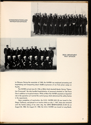 Page 9, 1951 Edition, Haven (AH 12) - Naval Cruise Book online yearbook collection
