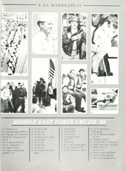 Page 5, 1989 Edition, Hawes (FFG 53) - Naval Cruise Book online yearbook collection