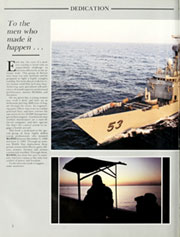 Page 6, 1989 Edition, Hawes (FFG 53) - Naval Cruise Book online yearbook collection