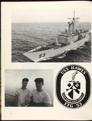 Page 12, 1991 Edition, Hawes (FFG 53) - Naval Cruise Book online yearbook collection