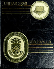 Page 1, 1986 Edition, Hayler (DD 997) - Naval Cruise Book online yearbook collection