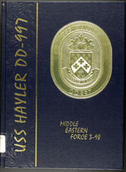 Page 1, 1998 Edition, Hayler (DD 997) - Naval Cruise Book online yearbook collection
