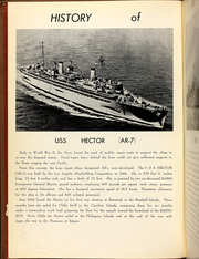 Page 6, 1961 Edition, Hector (AR 7) - Naval Cruise Book online yearbook collection