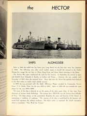 Page 7, 1961 Edition, Hector (AR 7) - Naval Cruise Book online yearbook collection