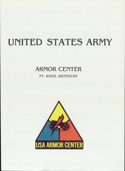 Page 5, 1987 Edition, US Army Training Center - Armor Yearbook (Fort Knox, KY) online yearbook collection