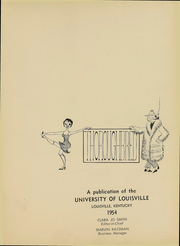 Page 4, 1954 Edition, University of Louisville Arts and Sciences - Thoroughbred Yearbook (Louisville, KY) online yearbook collection