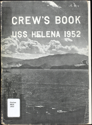 1952 Edition, Helena (CA 75) - Naval Cruise Book