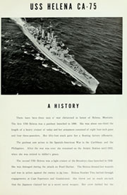 Page 5, 1956 Edition, Helena (CA 75) - Naval Cruise Book online yearbook collection