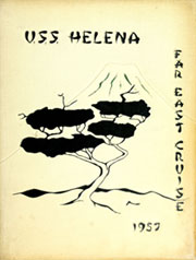 1957 Edition, Helena (CA 75) - Naval Cruise Book