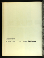 Page 16, 1966 Edition, Western Kentucky University - Talisman Yearbook (Bowling Green, KY) online yearbook collection