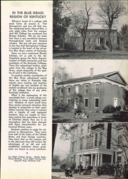 Page 17, 1941 Edition, Georgetown College - Belle of the Blue Yearbook (Georgetown, KY) online yearbook collection