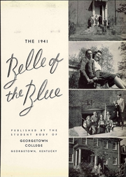 Page 9, 1941 Edition, Georgetown College - Belle of the Blue Yearbook (Georgetown, KY) online yearbook collection