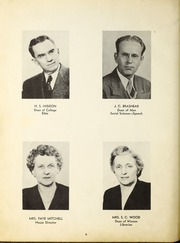 Page 10, 1947 Edition, Campbellsville University - Maple Trail Yearbook (Campbellsville, KY) online yearbook collection