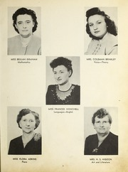 Page 11, 1947 Edition, Campbellsville University - Maple Trail Yearbook (Campbellsville, KY) online yearbook collection