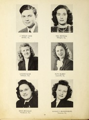Page 16, 1947 Edition, Campbellsville University - Maple Trail Yearbook (Campbellsville, KY) online yearbook collection