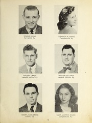 Page 17, 1947 Edition, Campbellsville University - Maple Trail Yearbook (Campbellsville, KY) online yearbook collection