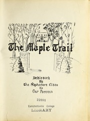 Page 5, 1947 Edition, Campbellsville University - Maple Trail Yearbook (Campbellsville, KY) online yearbook collection