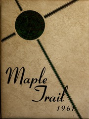 1961 Edition, Campbellsville University - Maple Trail Yearbook (Campbellsville, KY)