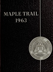 1963 Edition, Campbellsville University - Maple Trail Yearbook (Campbellsville, KY)