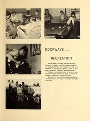 Page 7, 1968 Edition, Campbellsville University - Maple Trail Yearbook (Campbellsville, KY) online yearbook collection